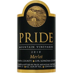Pride Pride Mountain Vineyard Merlot 2015  <br /> Sonoma, California