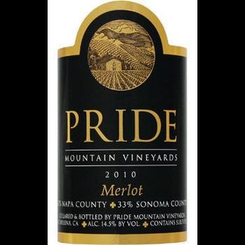 Pride Pride Mountain Vineyard Merlot 2015  <br /> Sonoma, California