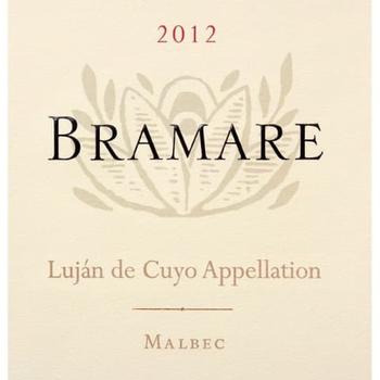 Vina Cobos Bramare Lujan de Cuyo Malbec 2012<br /> Valle De Uco, Argentina<br /> 94pts-JS