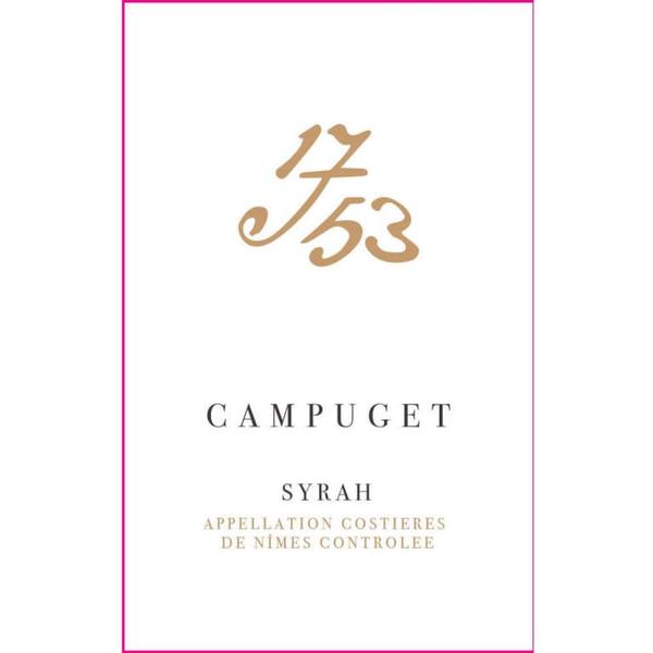 "Chateau de Campuget '1753"" Syrah 2016<br /> Languedoc-Roussillon, France"
