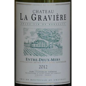 Ch La Graviere Ch La Graviere Blanc 2017<br />Bordeaux, France