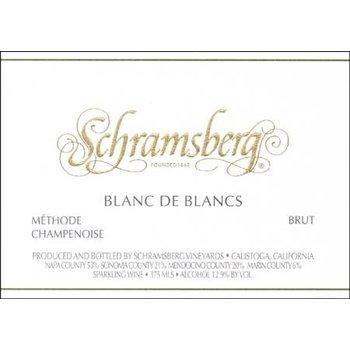 Schramsberg Schramsberg Sparkling Blanc de Blanc 2016<br />Napa, Califronia