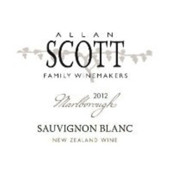 Allen Scott Family Winemakers Allen Scott Family Winemakers Sauvignon Blanc 2017 Marlborough, New Zealand