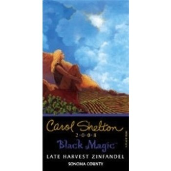 Carol Shelton Carol Shelton Black Magic Late Harvest Zinfandel 2011<br />