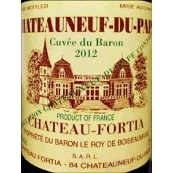 Ch Fortia Ch Fortia Chateauneuf-Du-Pape Cuvee du Baron 2015<br />Rhone, France