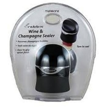 Metrokane Distribution, LLC Rabbit Champagne and Wine Bottle Sealer