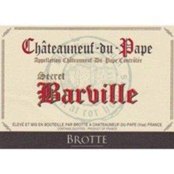 Brotte Brotte Secret Barville Chateauneuf-du-Pape 2012  Rhone-France-92pts-RP