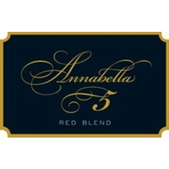 "Annabella Annabella ""5"" Red Blend 2016<br />