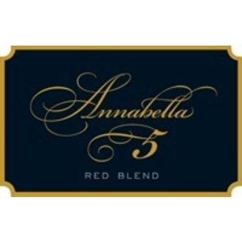"""Annabella Annabella """"5"""" Red Blend 2017<br />California"""