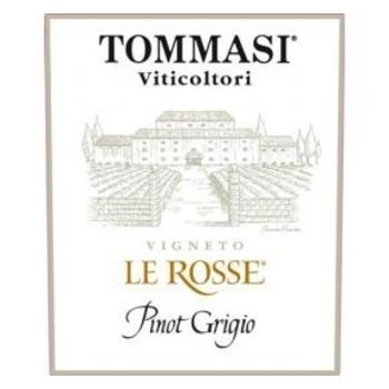 Tommasi Tommasi Le Rosse Pinot Grigio 2018<br />Italy