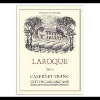 Domain Laroque Cabernet Frank Carcassonne 2017<br /> South of France