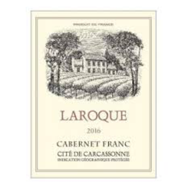 Domain Laroque Cabernet Frank Carcassonne 2017