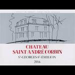 Calvet Chateau Saint Andre Corbin St Georges St Emilion 2018<br /> Bordeaux, France<br /> 90pts-JS