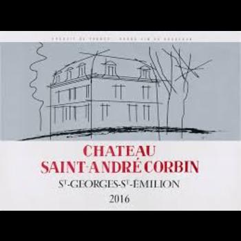 Calvet Chateau Saint Andre Corbin St Georges St Emilion 2016<br /> Bordeaux, France<br /> 90pts-JS