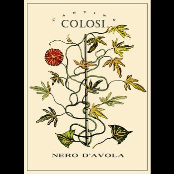 Colosi Colosi Nero d'Avola 2018<br /> Sicily, Italy