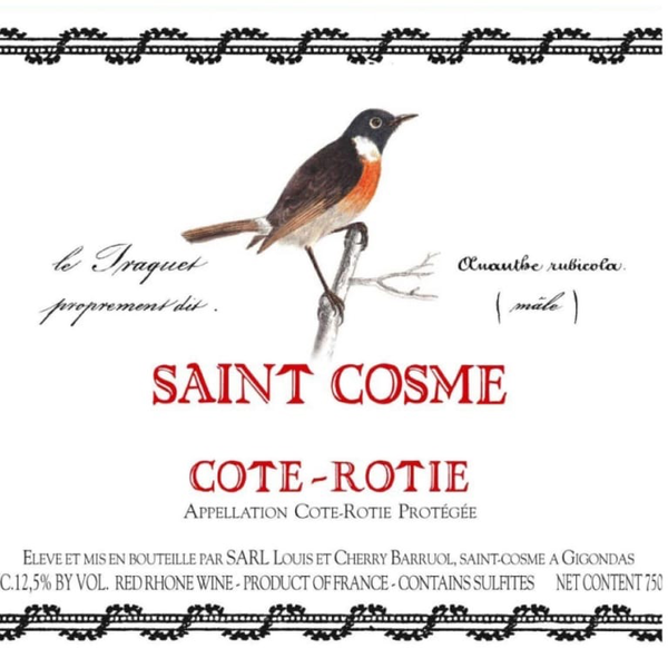 Chateau de Saint Cosme Cote-Rotie 2018<br /> Rhone, France