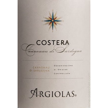 Argiolas Argiolas Costera 2015<br />Sardenia, Italy