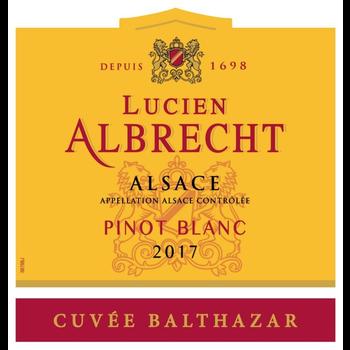 Lucien Albrecht Lucien Albrecht Cuvee Balthazar Pinot Blanc 2018<br />Alsace, France