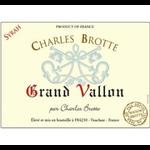 Maison Brotte Grand Vallon Syrah 2017<br /> Vin de France, France