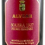 Alvear Alvear Pedro Ximenez Solera 1927     375ml<br />WA 96pts.