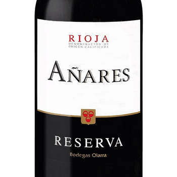 "Bodegas Olarra ""Anares"" Reserva Rioja 2015<br /> Rioja, Spain<br /> 90pts-WE"
