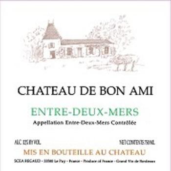 Ch. de Bon Ami Entre-Deux-Mers Blanc 2018<br /> Bordeaux, France