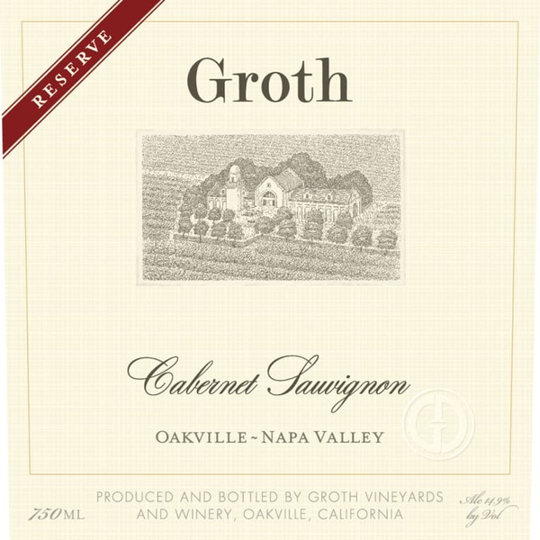 Groth Reserve Cabernet Sauvignon 2014<br /> Oakville/Napa Valley, California<br /> 93pts-WE, 93pts-WS