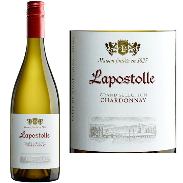 Casa Lapostolle Grand Selection Chardonnay 2018<br /> Casablanca Valley, Chile<br /> 91pts-JS