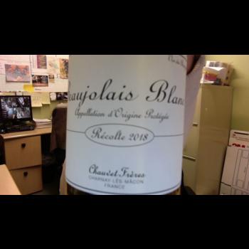 Chauvet Freres Beaujolais Blanc 2018<br /> Beaujolais, France