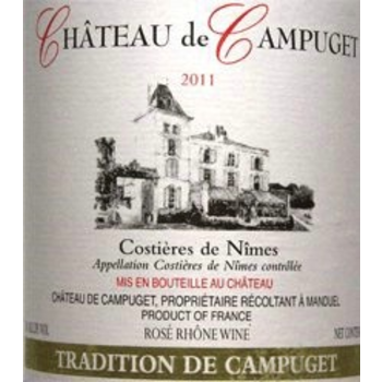 Ch de Campuget Ch de Campuget Tradition Red Blend 2016<br />