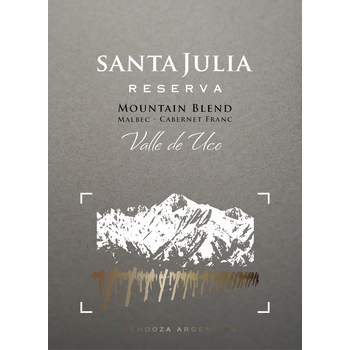 Santa Julia Santa Julia Reserva Mountain Blend 2017  <br /> Uco Valley, Argentina