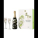 Perrier-Jouet Perrier Jouet Fleur de Champagne Belle Epoque Gift Pk w/Flutes 2012<br />Champagne, France  <br /> 94pts-WE, 92pts-JS
