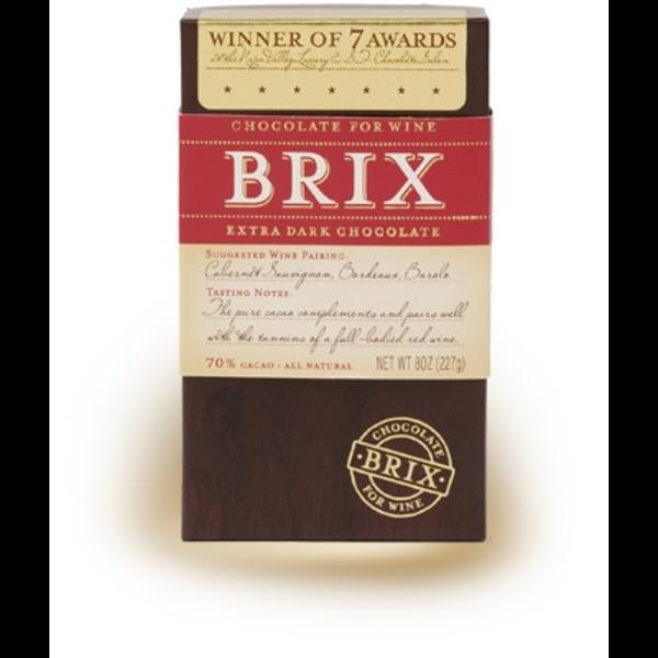 Brix Brix Extra Dark Chocolate 8oz