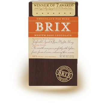 Brix Brix Chocolate Medium Dark 8 oz