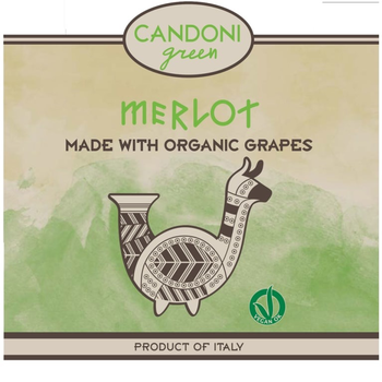 Candoni Organic Merlot 2015<br /> Veneto, Italy