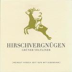 Weingut Hirsch Hirschvergnugen Gruner Veltliner 2017<br /> Austria<br /> 91pts-WE, 90pts-JS