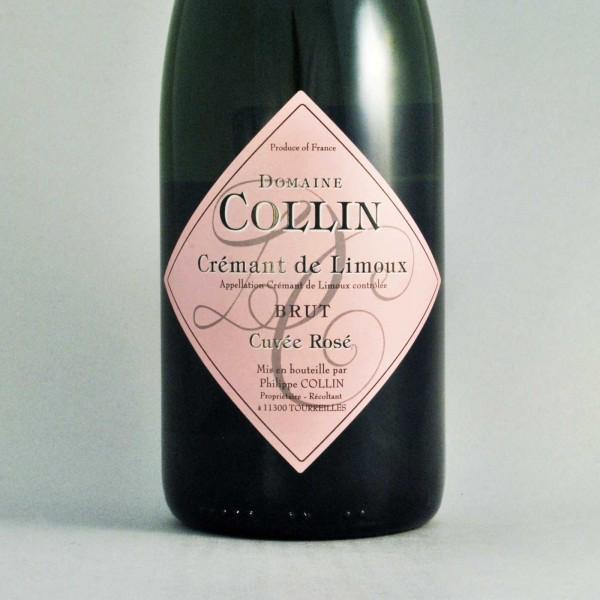 Domaine Collin Cremant de Limoux Brut Rose<br /> France