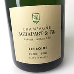 Agrapart & Fils Terroirs Extra Brut Blanc de Blancs Champagne <br /> Champagne, France<br /> 94pts-JS, 94pts-WA