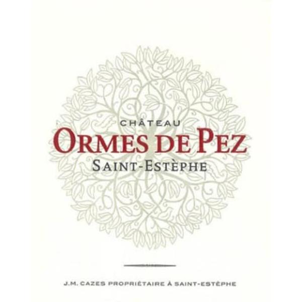 Ch Les Ormes de Pez 2015<br />Bordeaux, France<br /> 94pts-JS, 92pts-WE, 92pts-WS, 91pts-WA