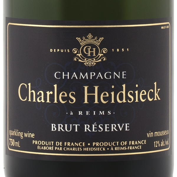 Charles Heidsieck Charles Heidsieck Brut Reserve Champagne<br />