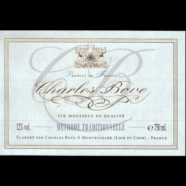 Charles Bove Methode Traditionelle Brut Non-Vintage Sparkling Wine  Loire, France