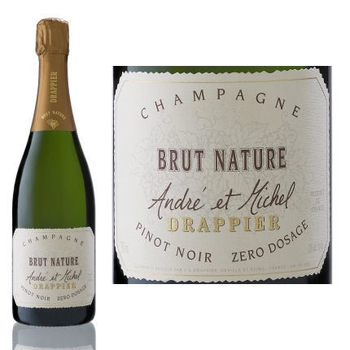 Drappier Drappier Brut Nature Zero Dosage  Non-Vintage Sparkling Wine Champagne, France <br /> 92pts-WS, 91pts-WE, 91pts-JS