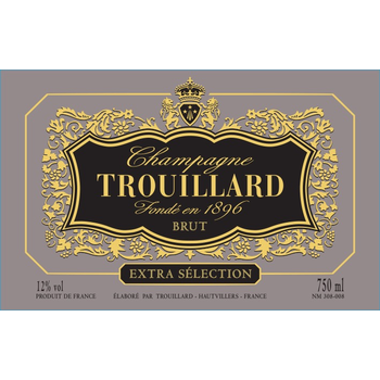 Trouillard Extra Selection Brut Champagne<br /> Champagne, France