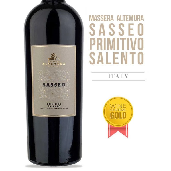 Masseria Altemura Sasseo Primitivo 2018<br /> Salento, Southern Italy, Italy