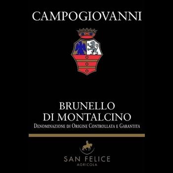 San Felice San Felice Campogiovanni Brunello Di Montalcino 2015<br /> Tuscany, Italy<br /> 94pts-JS, 93pts-WA, 93pts-WS, 93pts-WE