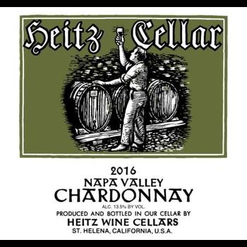 Heitz Cellars Chardonnay 2016<br /> Napa Valley, California<br /> 91pts-WE, 90pts-JS