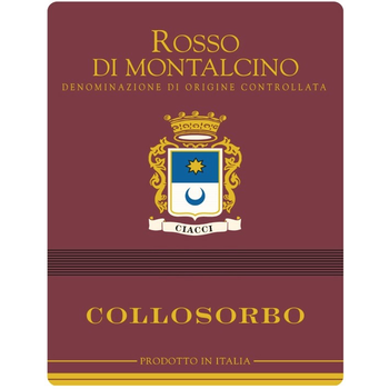 Collosorbo Collosorbo Rosso Di Montalcino 2018<br /> Tuscany, Italy<br /> 90pts-JS