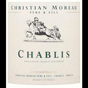 Christian Moreau Chablis 2017<br />Burgundy, France<br /> 91pts-JS
