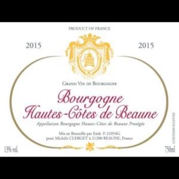 Michele Clerget Bourgogne Hautes Cotes de Beaune 2015<br /> Burgundy, France