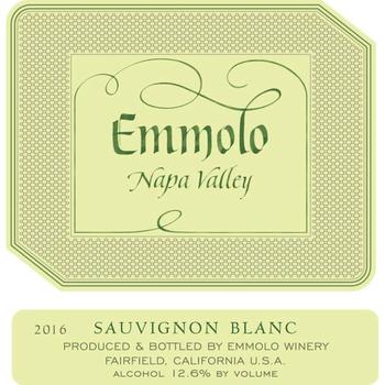 Emmolo Emmolo Sauvignon Blanc 2019<br />Napa, California